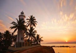 Sunrise in Galle, Sri Lanka