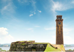 Tower of the fort in Galle