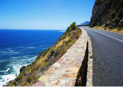 View from the top of the Chapman's Peak drive