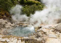 Hot spring Azores