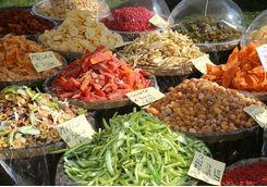 Fruits Italian market