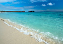 Turquoise water beach