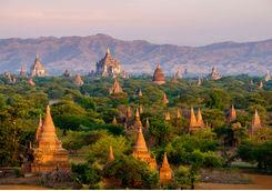 Old temple, Myanmar