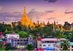 Yangon skyline