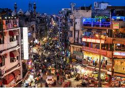 City life, New Delhi