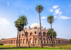 Humayun's tomb in New Delhi