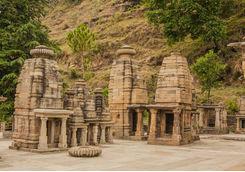 Katarmal Sun Temple near Almora