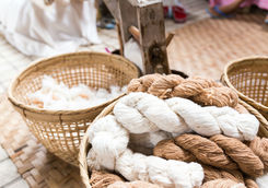 Silk weave handmade