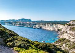 Cliffs in Corsica