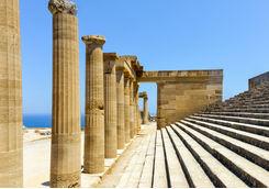 Acropolis columns