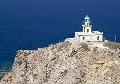 Santorini lighthouse