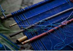 Loom weaving in Guatemala