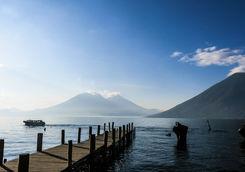 Lake Atitlan jetty