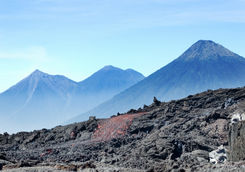 Pacaya Volcano lava