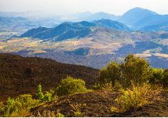 Volcanic terrain, Guatemala