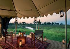 Duba expedition camp deck view