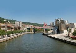 Bilbao city scape