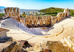 Amphitheater of acropolis, Athens