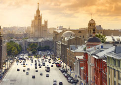 Moscow city scape