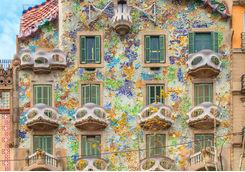 Facade of Gaudi hotel