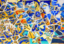 Gaudi tiles