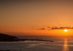 Tangier sunset
