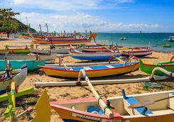 fishing boats jimbaran