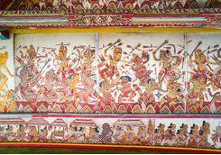 detailed ceiling paintings