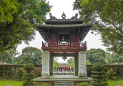 Entrance to the temple of literature