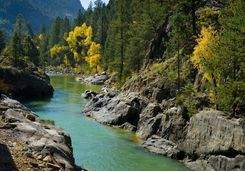 Animas river fall