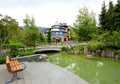 View inside Whistler Village