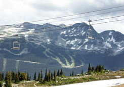 Gondola to the Blackcomb Moutains