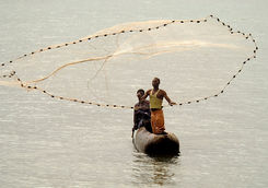Kaya Maya fishermen