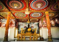 Big Buddha Statue in That Ing Hang