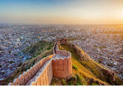Aerial View of Jaipur