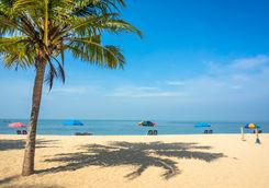 Kerala Beach with Sea View