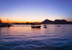 Udaipur sunset boat ride