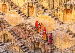 Stepwell in Jaipur