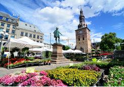 Flower market in Oslo