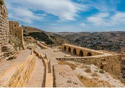 Al Karak Kerak Crusader Castle Fortress