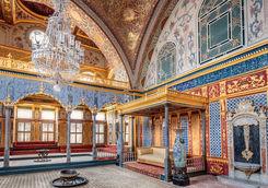 Inside the Topkapi Palace