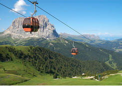 Lifts in Dolomites