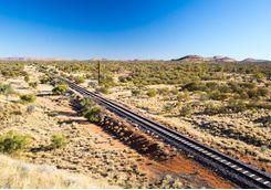 The Ghan railway
