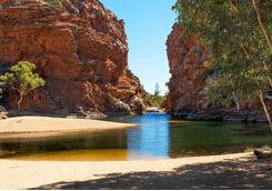 Ellery Creek Big Hole in Alice Springs