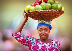 Woman in Kigali