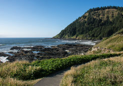 Cape Perpetua in Oregon Coast