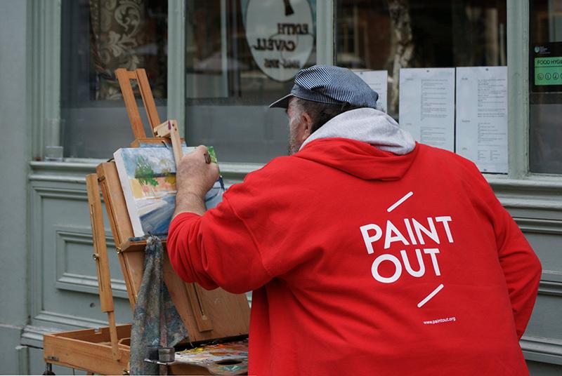 Paint Out Holt, Norfolk 2019