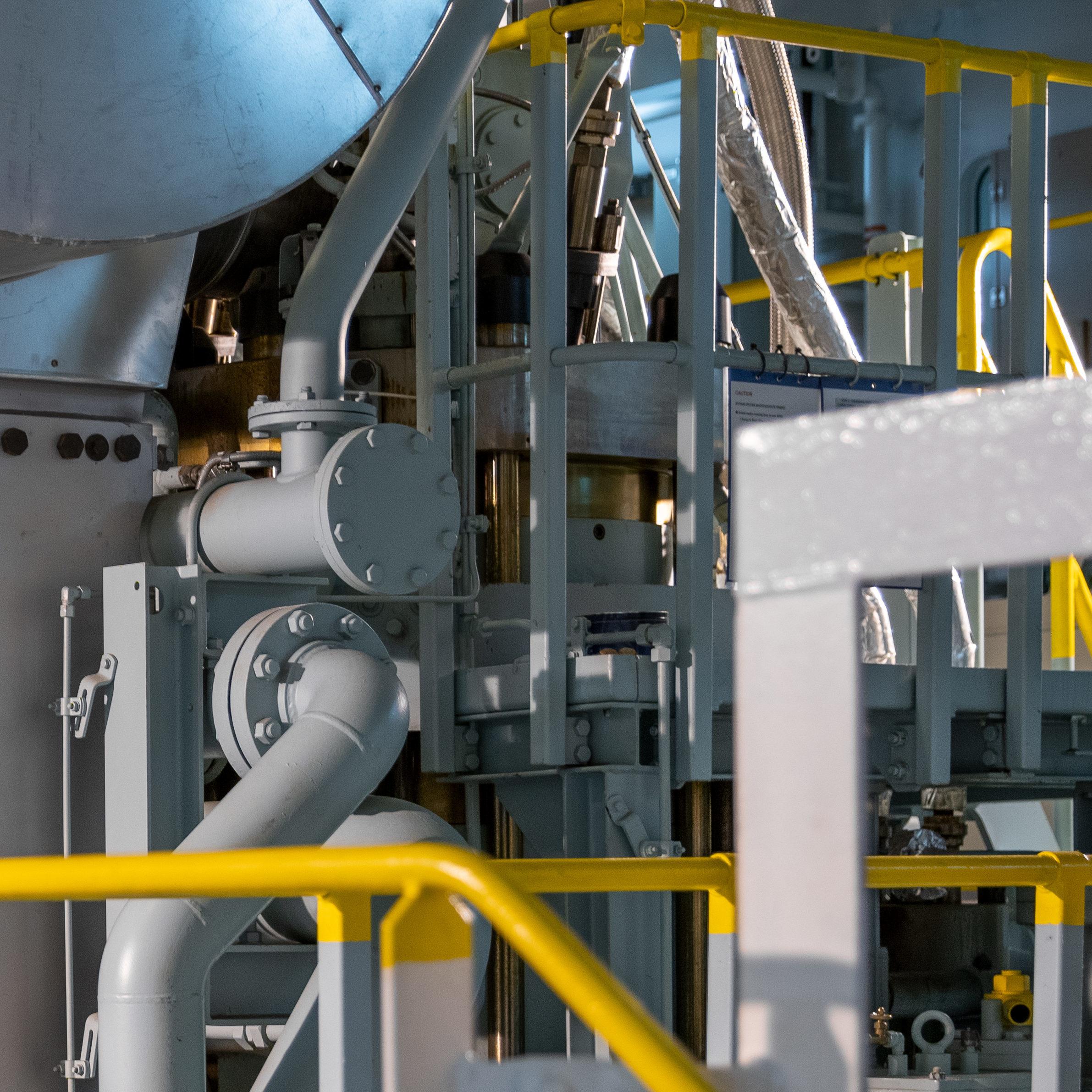 Shipbuilding steam
