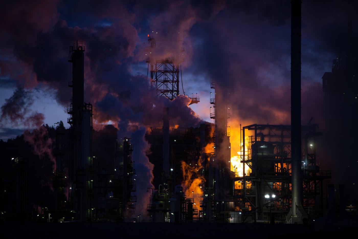Refinery burn