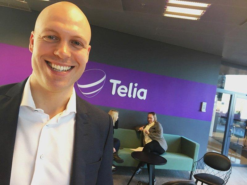 Daniel Barnes at Telia